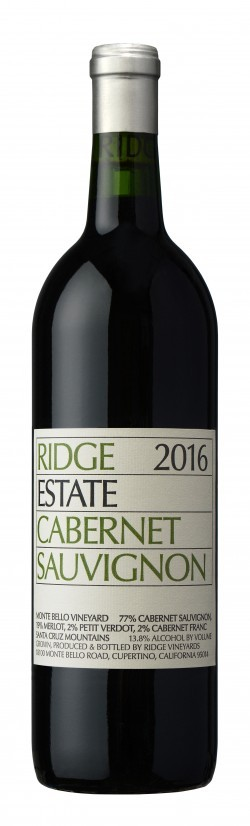 Ridge Vineyards - Cabernet Sauvignon Estate 2016